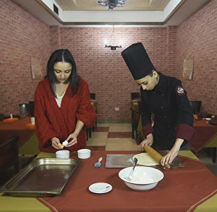 В гостях у шеф-повара: как приготовить Тарехац