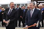Открытие железной дороги Баку – Тбилиси – Карс