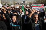 Антиклерикальный протесты в иранских городах