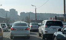 Дорога, машины, Ереван.