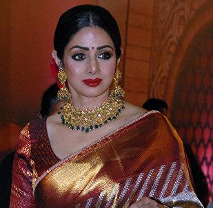 Индийская актриса Сридеви Капур