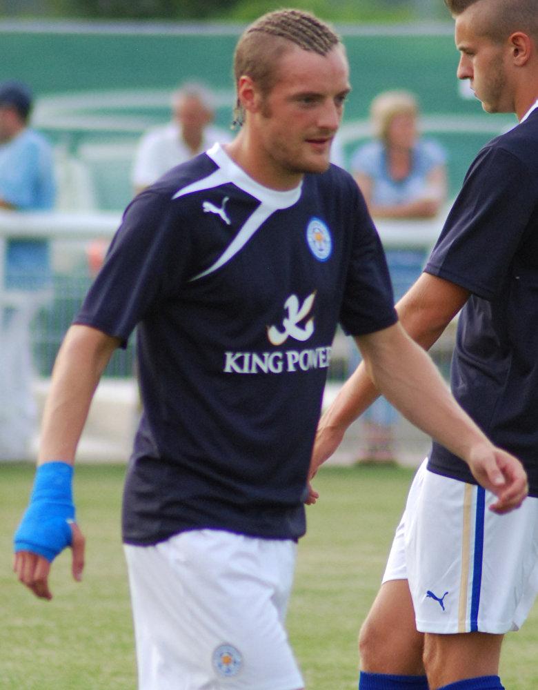 Джейми Варди - английский футболист, нападающий клуба Лестер Сити и национальной сборной Англии.