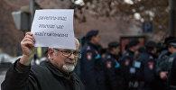 Акция протеста сторонников Сасна Црер