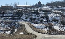 Цахкадзор зимой