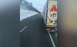 Первые кадры с места трагедии в Казахстане где сгорели больше 50 человек
