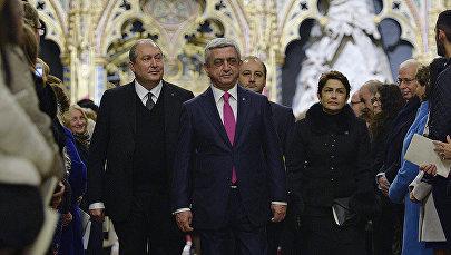 Серж Саргсян и Армен Саркисян