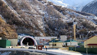 Рокский перевальный тоннель, соединяющий Россию с Южной Осетией, открыт после капитальной реконструкции