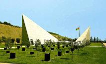 Губинский мемориальный комплекс геноцида. Губа, Азербайджан.