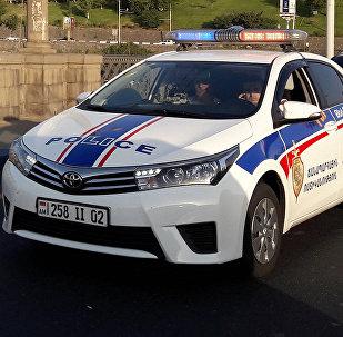 Машина дорожной полиции