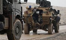 Турецкие войска севернее Африна (23 января 2018). Сирия