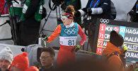 Лыжница Олимпийской Сборной Армении Катя Галстян (15 февраля 2018). Пхенчхан, Южная Корея