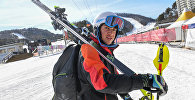 Горнолыжник Олимпийской Сборной Армении Ашот Карапетян (16 февраля 2018). Пхенчхан, Южная Корея