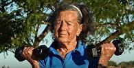 83-летняя бабушка готовится к покорению самой высокой вершины за пределами Азии