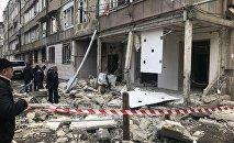 Взрыв в жилом доме в Ереване