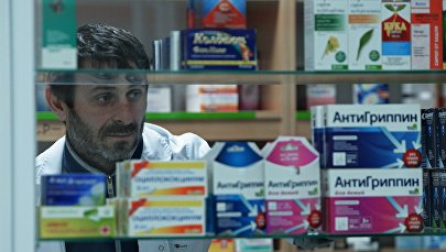 Фармацевт в аптеке