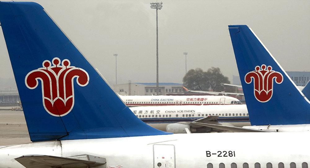 Чистая прибыль China Southern Airlines упала почти на четверть