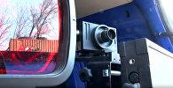 Мобильный дорожный радар скорости