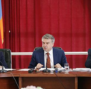 Рабочий визит премьер-министра страны Карена Карапетяна в Араратскую область Армении