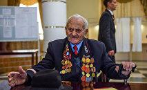 Герой труда, ветеран ВОВ, почетный гражданин Гюмри Артуш Тоноян