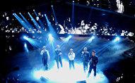 Выступление группы Take That на 61-ом песенном конкурсе Сан Ремо (18 февраля 2011). Италия