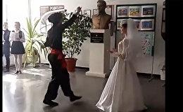 Самая настоящая армянская свадьба !