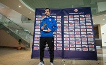 Церемония награждения лучшего футболиста Армении