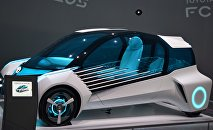 Концепт-кар автоконцерна Toyota, работающий на водороде