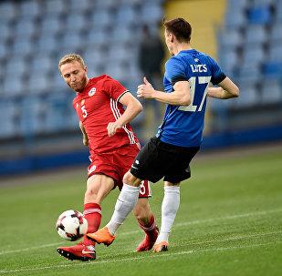 Товарищеский матч по футболу Армения - Эстония