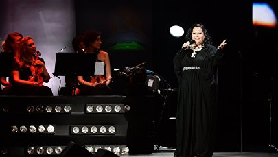 Певица Мариам Мерабова