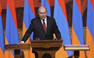 Инаугурация 4-го президента Армении Армена Саркисяна