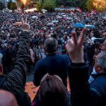 Акция протеста Мой Шаг (13 апреля 2018). Площадь Свободы, Ереван