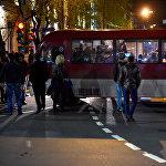 Акция протеста Мой Шаг (13 апреля 2018). Площадь Франции, Ереван