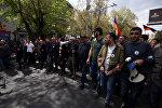 Шествие оппозиции в центре Еревана