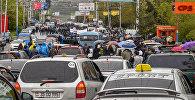 Акция протеста оппозиции в округе Нор Норк (21 апреля 2018). Ереван