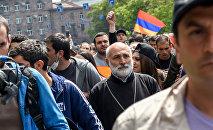 Улица Григора Лусаворича (22 апреля 2018). Ереван