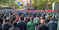 Переулок проспекта Маштоца и улицы Амиряна (22 апреля 2018). Ереван