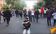 Ликование народа в Ереване 23 апреля 2018
