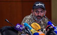 Пресс-конференция Никола Пашиняна (24 апреля 2018). Гостиница Marriott Armenia, Ереван