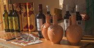 Ярмарка-дегустация вина в центре Ереване