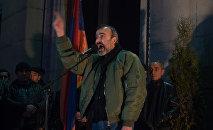 Митинг оппозиционного фронта «Новая Армения» проходит в Ереване. Жирайр Сефилян