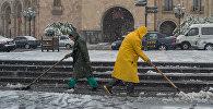 Зима в Ереване
