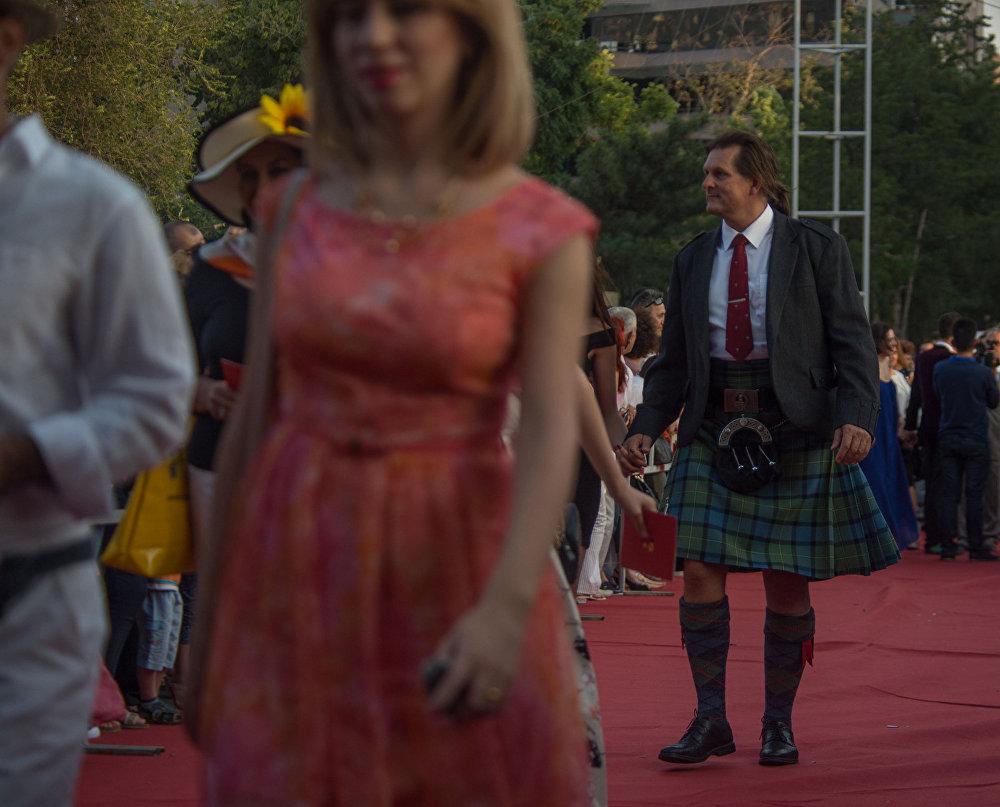 Торжественная церемония открытия XII Международного ереванского кинофестиваля «Золотой абрикос»