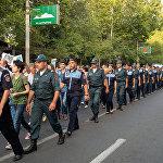 Шествие к зданию Генпрокуратуры стартовало с площади Азнавура