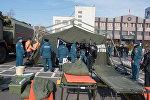 Палатки для организации своевременной помощи при снежных заносах