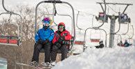 Цахкадзор, канатная дорога, снег, лыжи