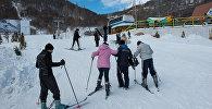 Цахкадзор, канатная дорога, снег, сноуборд, лыжи
