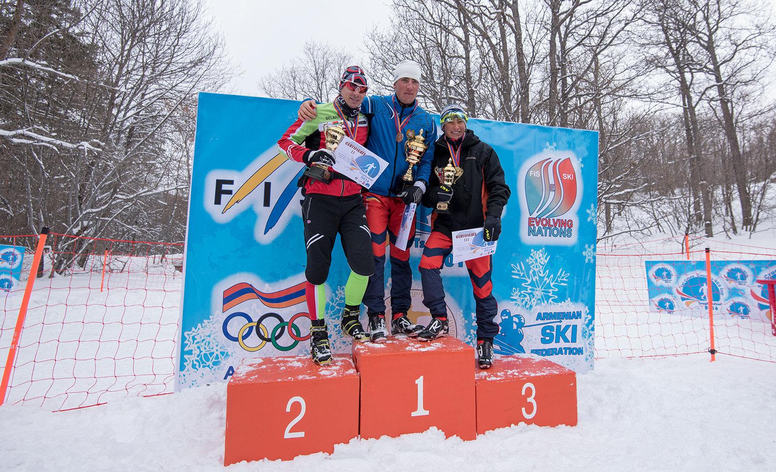 Победители первенства Кубка по беговым лыжам