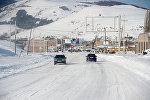 Зима в Армении. Дороги