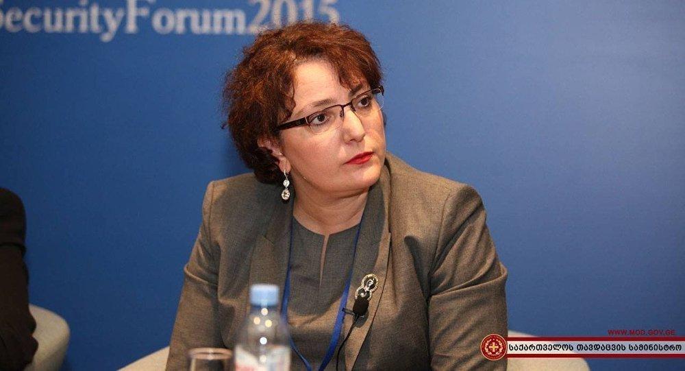 Министр обороны Грузии Тинатин Хидашели