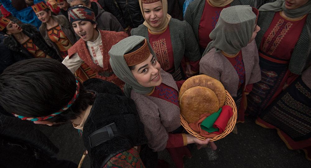 Армянский праздник Барекендан